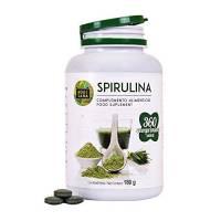 Spirulina naturale | Migliora le tue prestazioni fisiche | Aumento di energia e vitalità | Fonte di proteine | 360 compresse