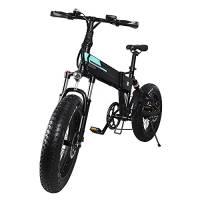 Bicicletta mountain bike uomo FIIDO M1 Pro, mountain bike, bici elettrica da 20''/bici da donna, city bike, e bike fat con motore da 500 W, batteria da 48 V 12,8 Ah, trasmissione a 7 velocità