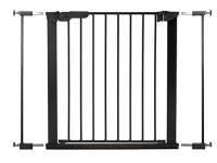 BabyDan Premier, protezione / morsetto della porta, 73,5-79,6 cm - Made in Denmark + omologazione TÜV / GS, Colore: nero