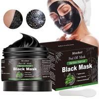 Maschera Nera Punti Neri, Black Mask, Maschera di comedone, Blackhead Remover Black Mask, Facciale Cura Strappando Stile Pulizia Profonda Pulizia Rimozione Di Comedone Maschera (120ML)