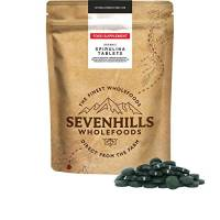 Sevenhills Wholefoods Spirulina Compresse Bio 500mg x 2000, 1kg