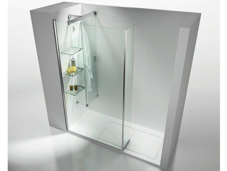 portaoggetti doccia pratici per salvaguardare lo spazio
