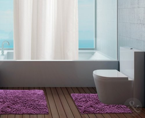 Set tappeti bagno tipologie e prezzi online - Set tappeti per bagno ...