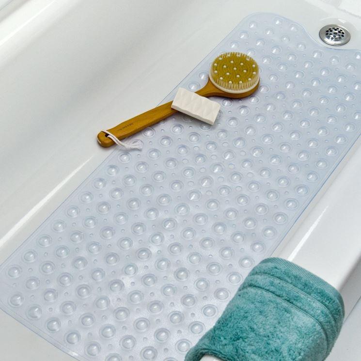 Tappetino antiscivolo per vasca da bagno e tappeto doccia - Tappeto idromassaggio per vasca da bagno ...