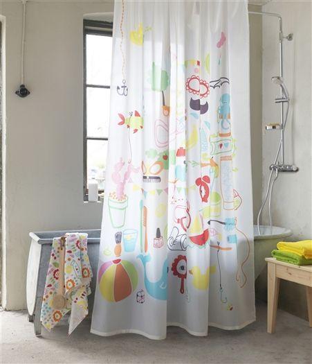 Tenda doccia l 39 oggetto di design ricco di fantasie e colori - Ikea bagno doccia ...