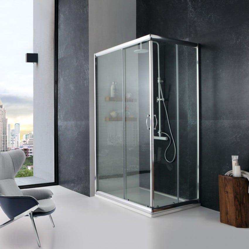 Box doccia cristallo, ideale per chi vuole un bagno elegante