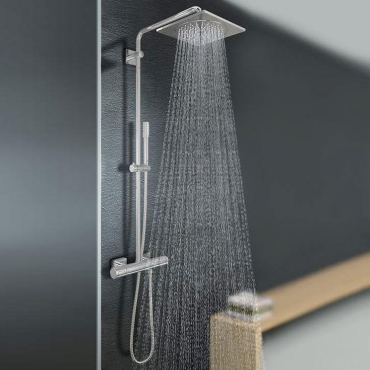 Colonna doccia con miscelatore, i vantaggi e prezzi online
