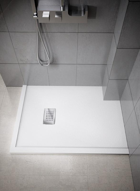 Piatto doccia ardesia come avere un bagno di classe - Piatto doccia in resina o ceramica ...