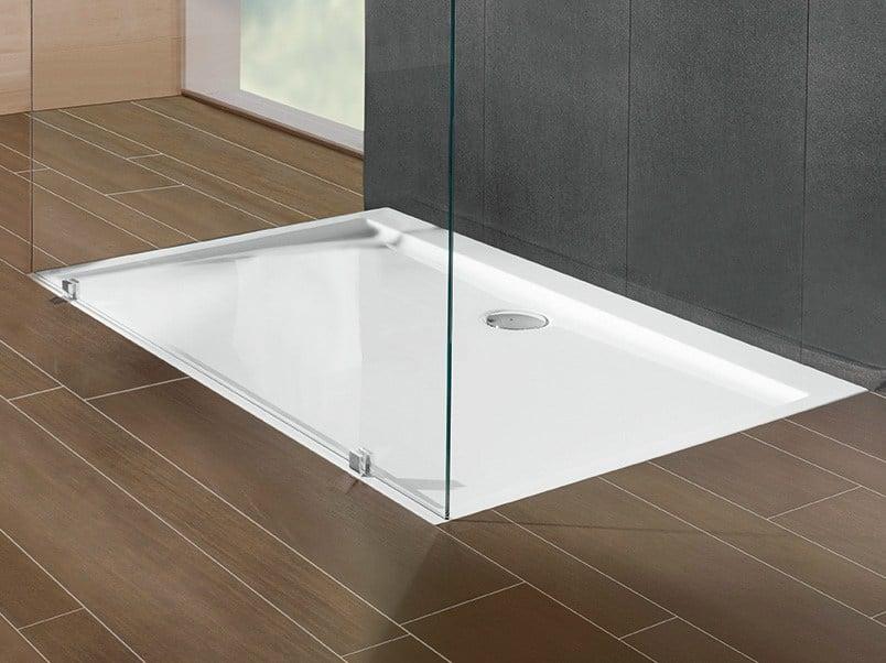 Piatto doccia ceramica un design moderno e semplice - Piatti doccia piccoli ...