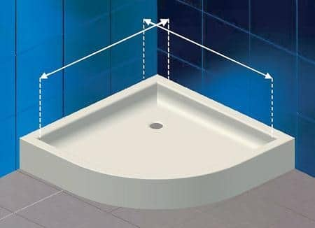 Doccia Angolare Piccola: GLASS Noor ND box doccia ad angolo Bagnolandia.