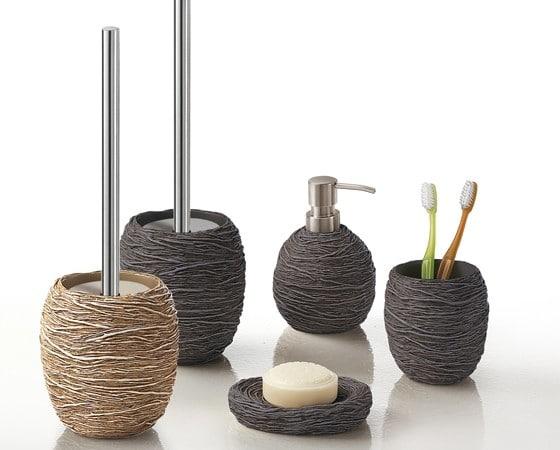 Set accessori bagno creare un look pi elegante e accogliente - Creare un bagno ...