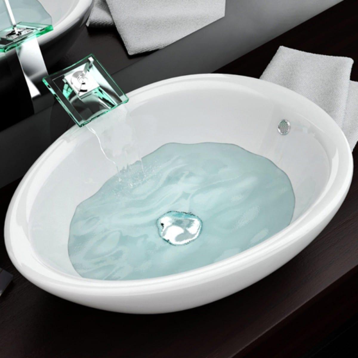 Piano Per Lavabo Da Appoggio lavandini da incasso per bagno installare lavelli. lavabi da
