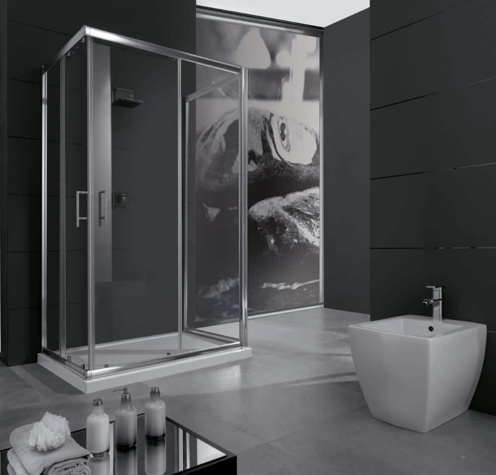 Box doccia 80x100 l 39 estetica e il benessere di una cabina - Piatti doccia piccoli ...