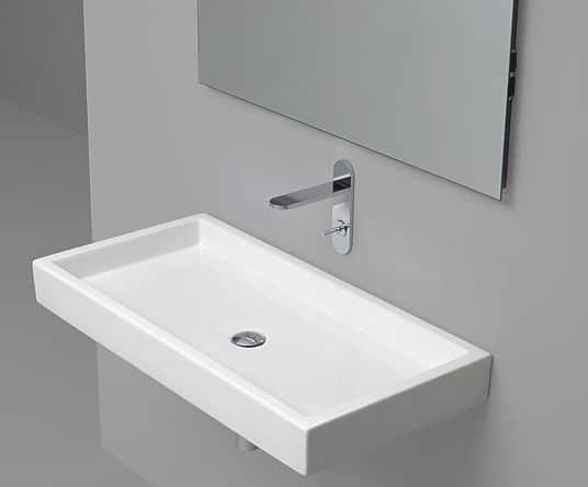 Lavabo sospeso: come salvaguardare lo spazio nel tuo bagno