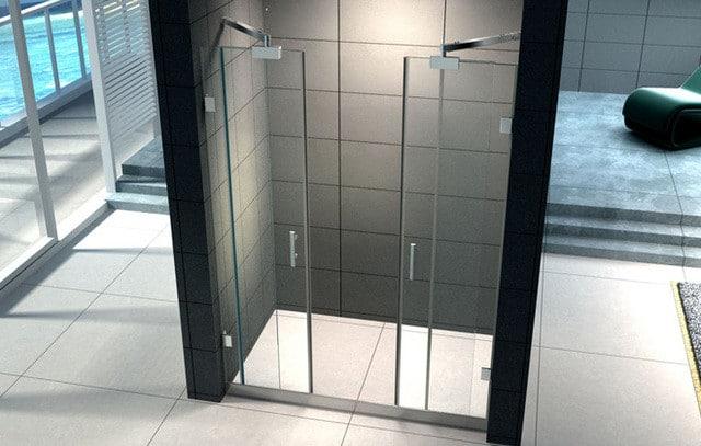 Porta doccia scorrevole un tocco di modernit nel proprio - Porta scorrevole bagno ...
