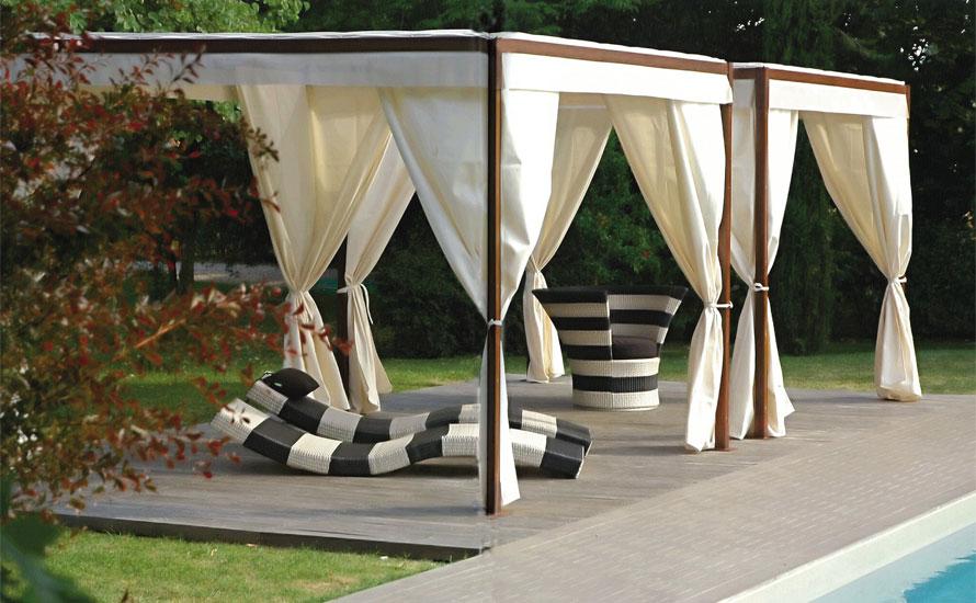 Awesome Gazebo Da Terrazza Gallery - Idee Arredamento Casa ...