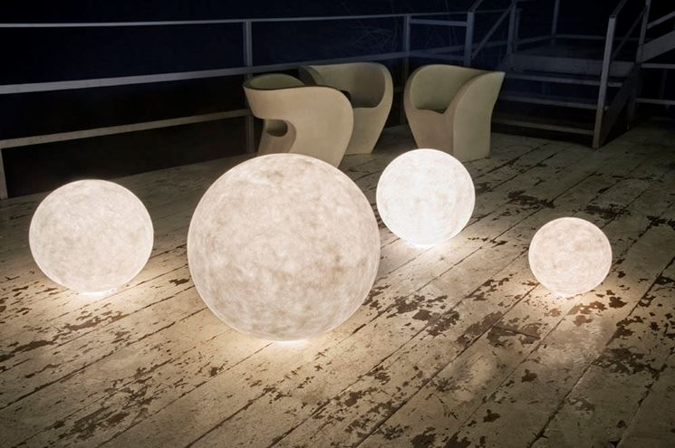 Illuminazione for Lampade solari da giardino leroy merlin