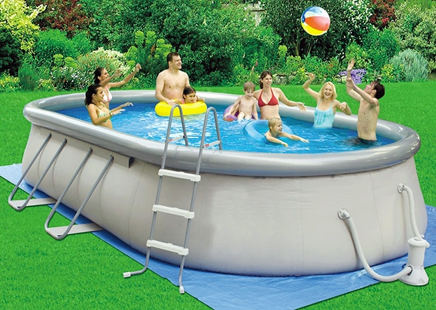 Piscine gonfiabili come far fronte al grande caldo - Amazon piscine gonfiabili ...