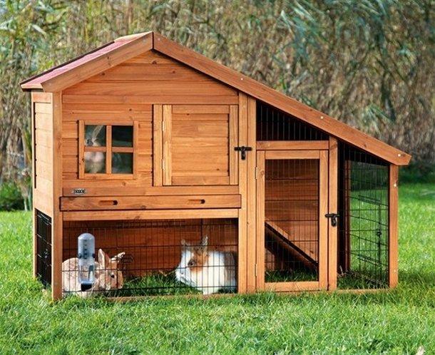 Gabbie per conigli da esterno da interno da ingrasso prezzi - Casetta per conigli ...