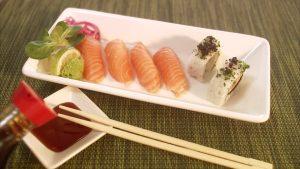 Sushi e soia