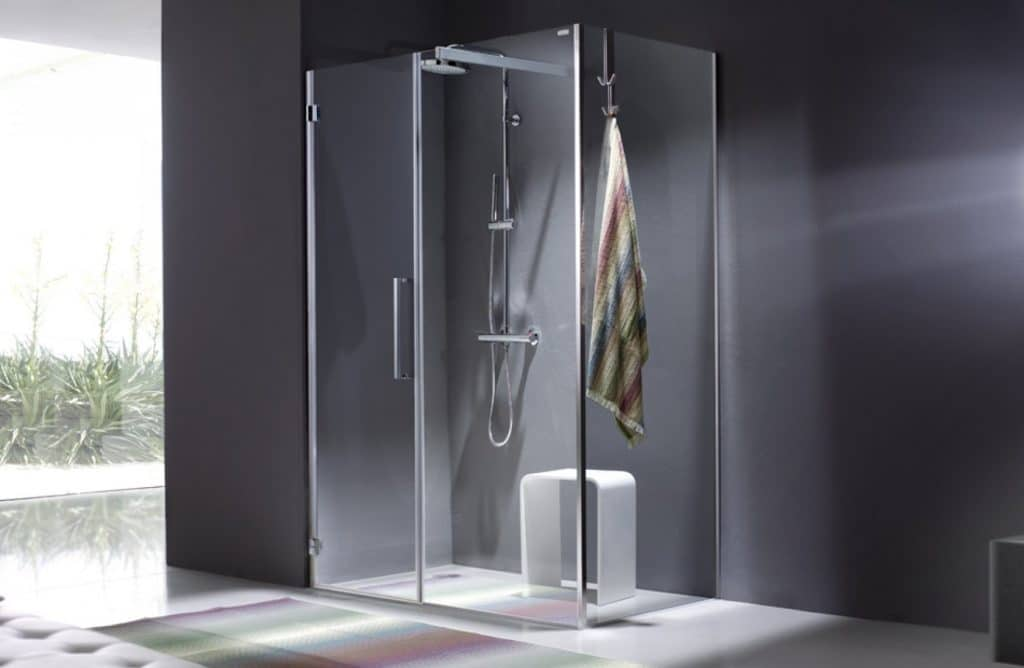 Box doccia leroy merlin idee creative di interni e mobili - Box doccia tre lati leroy merlin ...