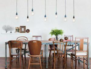 sedie diverse legno