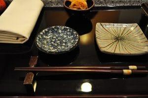 set sushi scuro