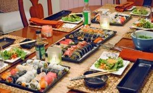 sushi tavolo