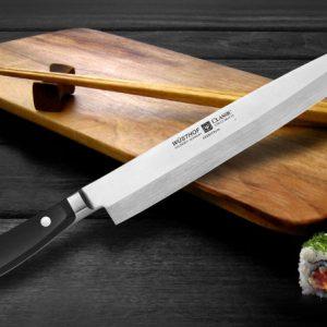 Sushi Parte 4! Coltello sushi degno di una samurai!