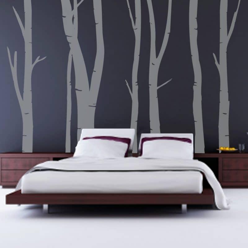 camera da letto zen albero
