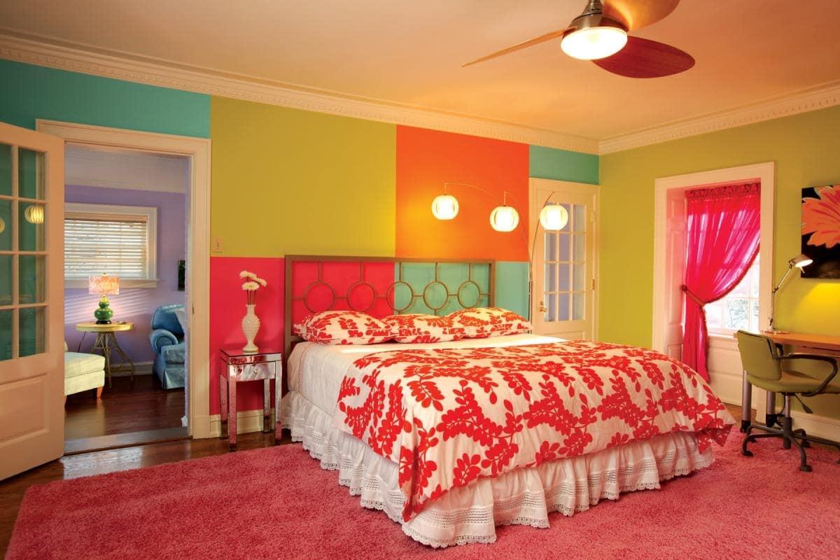 Colori camera da letto i gusti rispecchiano la - Lumi camera da letto ...