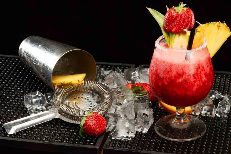 shaker cocktail filtro