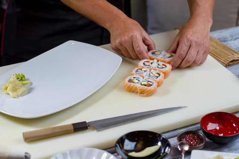 sushi coltello