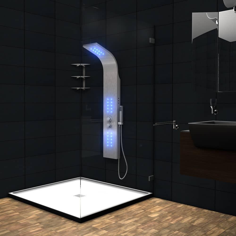 colonna doccia led