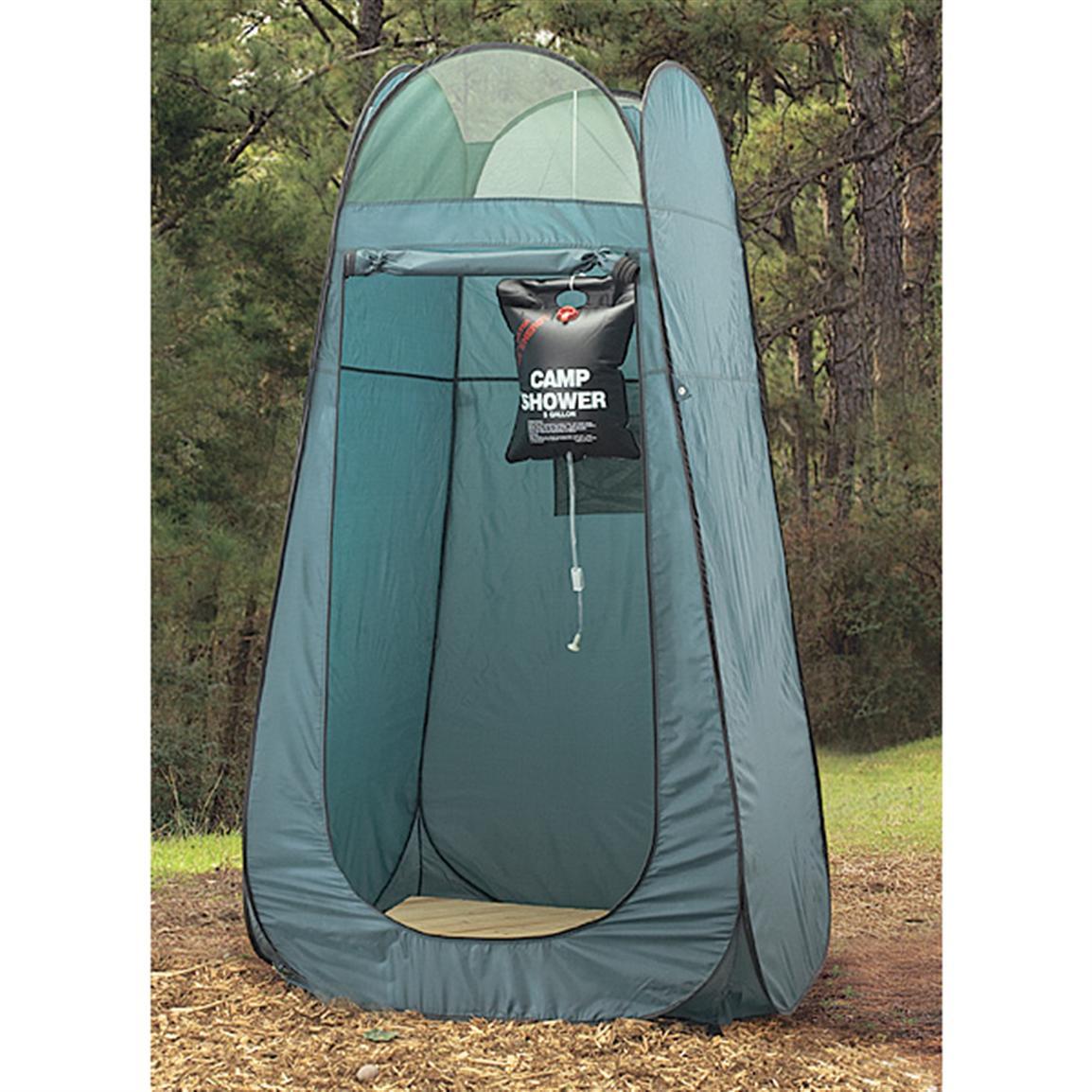 doccia solare da campeggio
