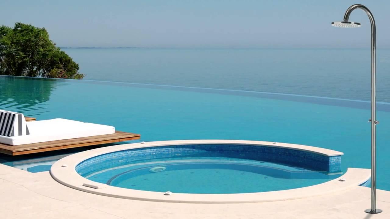 doccia solare per piscine