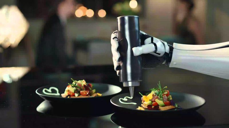 robot da cucina piatti
