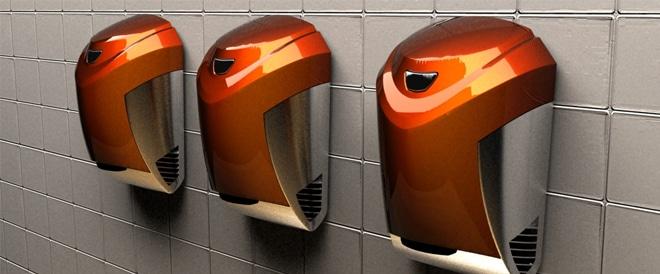 asciugamani elettrici design