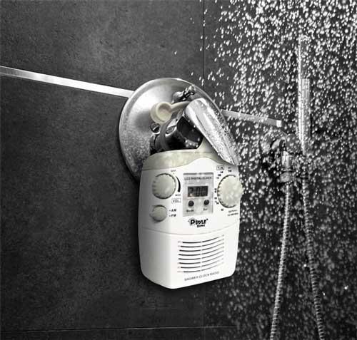 radio per doccia