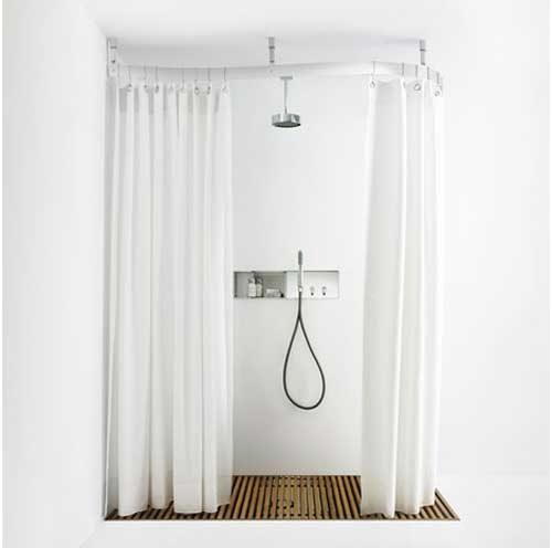 Tenda Doccia Vintage: Tenda doccia cm bricofer. Tenda doccia l oggetto di design ricco fantasie ...