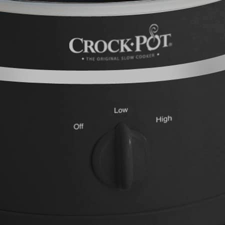 crock pot 2,4 l comandi