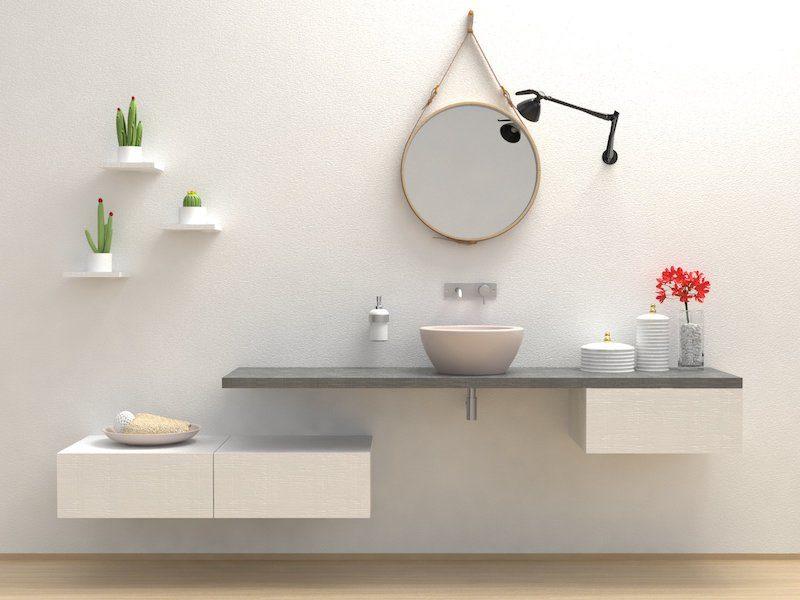 Come arredare un bagno idee e consigli utili vesto casa for Consigli x arredare casa