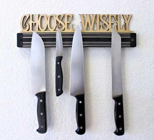 porta coltelli spiritoso