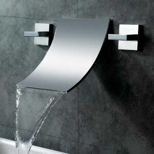 rubinetti di design cascata parete