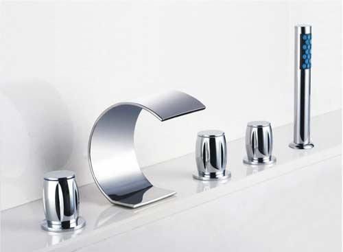 rubinetti di design cascata