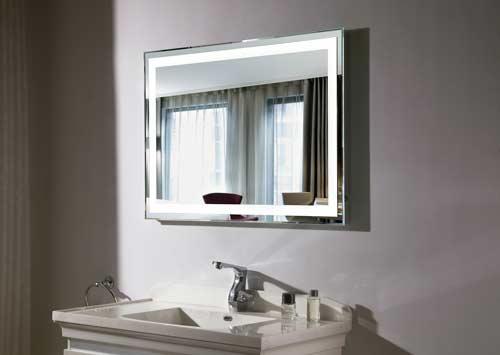 specchio del bagno cornice led