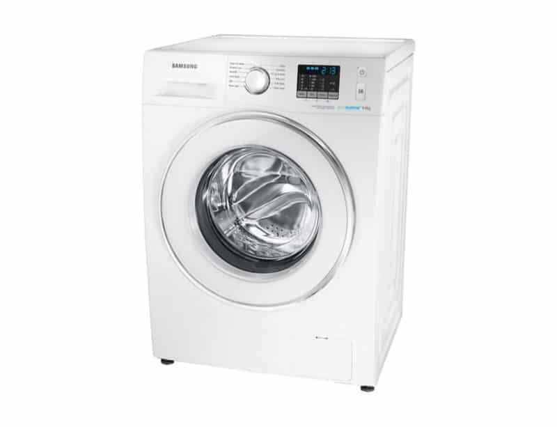 lavatrice samsung wf80f5e0w4w inizio 3 quarti