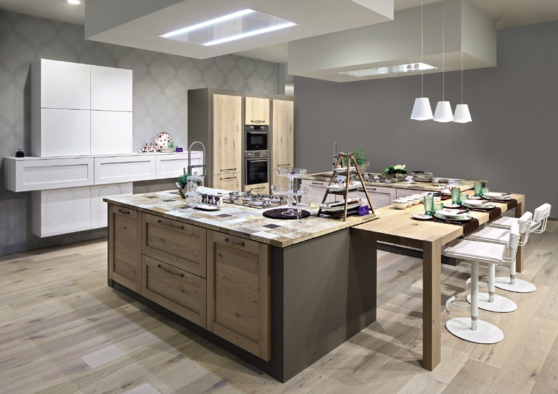 Cucina in muratura moderna il nuovo trend vesto casa - Cucina muratura moderna ...