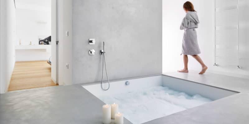 Rivestimenti bagno 5 idee arredo 2018 vesto casa - Microcemento bagno ...