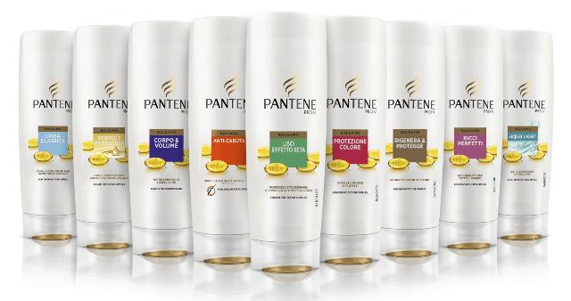 pantène shampoo marche di shampoo